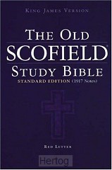 KJV old scofield study bible