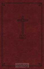 KJV - Deluxe Gift Bible, Brown Imit. Lea