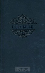 KJV soft touche bible black imitation le
