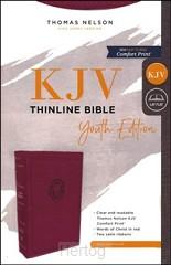 KJV thinline bible youth edition burgun