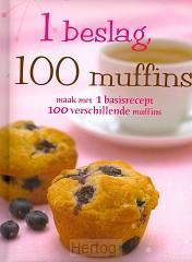 1 beslag, 100 muffins