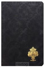 KJV LP pers size ref bibleblack velvet