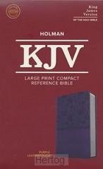 KJV LP Compact Ref. Bible