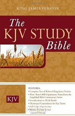 KJV Study Bible Colour Hardcover