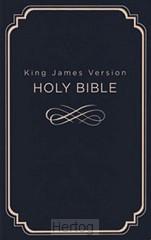 KJV gift & award Bible Navy Dicarta