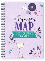 2021 Creative Planner Prayer Map