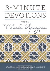 3-minute devotions with charles spurgeon