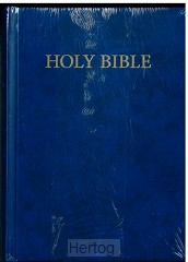 KJVA Compact Bible, Blue hardcover