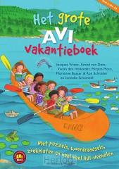 Grote AVI vakantieboek 2