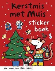 Kerstmis met muis stickerboek