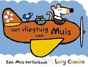 Vliegtuig van muis kartonboek