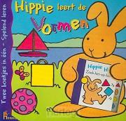 Kartonboek hippie leert de vormen