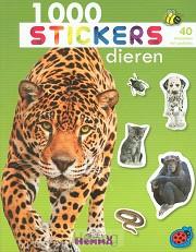 1000 stickers dieren