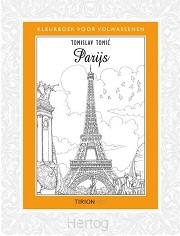 Kleurboek volwassenen Parijs