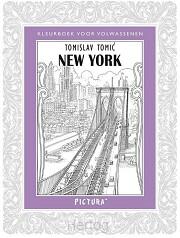 Kleurboek volwassenen New York