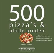 500 pizza's & platte broden