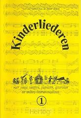 Kinderliederen 1 muziekboek