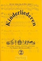 Kinderliederen 2 muziekboek
