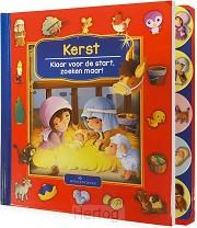 Kerst kartonboek set van 3