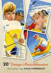 Vintage ansichtkaarten set 20
