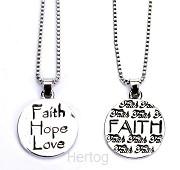 Ketting faith hope love
