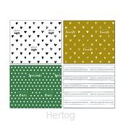 4 vellen inpakpapier 50x70