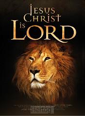 Wandbord A3 Jesus Christ is Lord