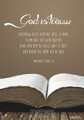 Viltbord God is trouw