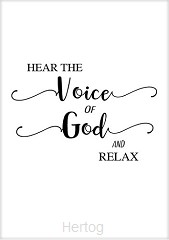 Kaart voice of God