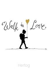 Kaart walk in love