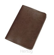 Bijbelhoes hsv 17x24.8x4cm rundleer br