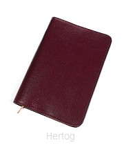 Bijbelhoes hsv 17x24.8x4cm rundleer wr