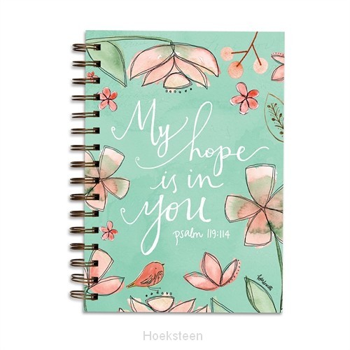 Wirebound Journal My hope is in you