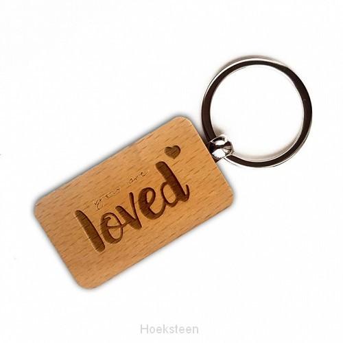 Sleutelhanger you are loved