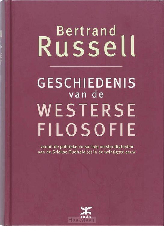 GESCHIEDENIS VAN DE WESTERSE FILOSOFIE /