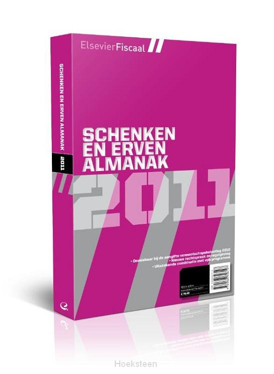Elsevier schenken & erven almanak / 2011 (e-boek)   H.R. Behrens   9789068828009   Boekhandel De Hoeksteen, Woerden