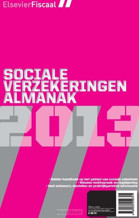 Elsevier sociale verzekering almanak / 2013 (e-boek) | Ben Tappel | 9789035250833 | Boekhandel De Hoeksteen, Woerden