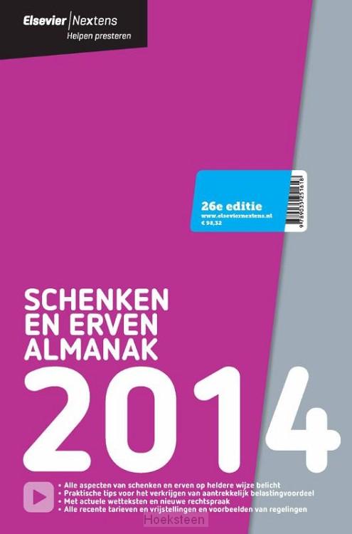 Elsevier schenken en erven / Almanak 2014 (e-boek) | H.R. Behrens | 9789035251717 | Boekhandel De Hoeksteen, Woerden