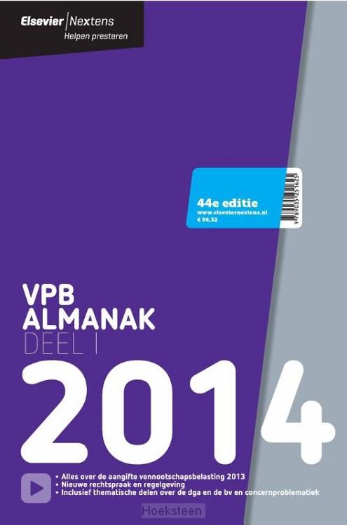 Elsevier VPB almanak / deel 1 2014 (e-boek) | A.J. van den Bos | 9789035251724 | Boekhandel De Hoeksteen, Woerden