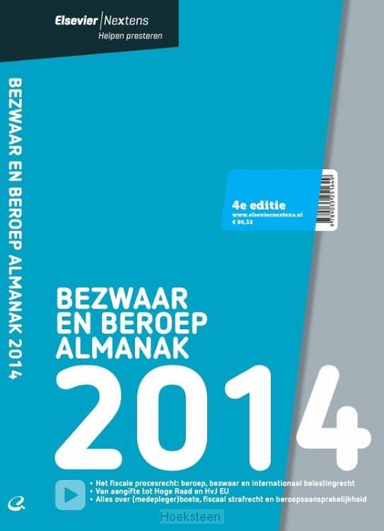 Elsevier bezwaar en beroep almanak 2014 (e-boek)   9789035251748   Boekhandel De Hoeksteen, Woerden