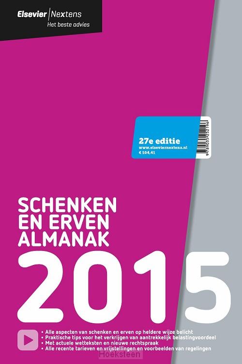 Elsevier schenken en erven almanak / 2015 (e-boek) | 9789035252295 | Boekhandel De Hoeksteen, Woerden