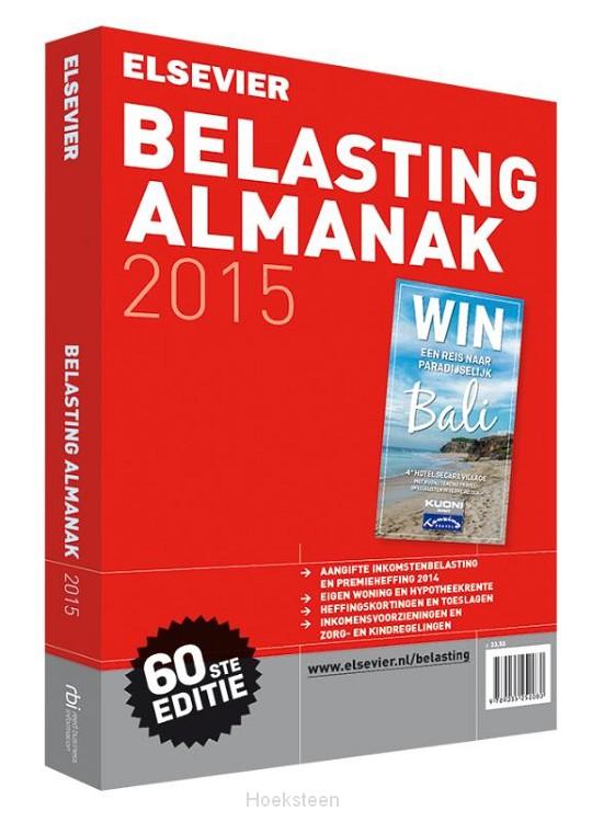 Elsevier belasting almanak / 2015 (e-boek)   W. Buis   9789035252356   Boekhandel De Hoeksteen, Woerden