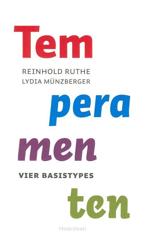 TEMPERAMENTEN / DRUK 1 | RUTHE, R. | 9789043513777 | Boekhandel De Hoeksteen, Woerden