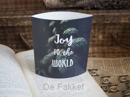 Lichtje voor jou: Joy to the world