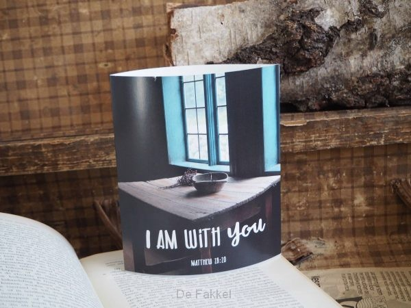 Lichtje voor jou: I am with you