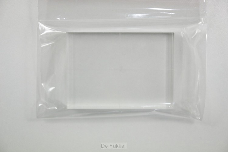 acrylblok voor stempel