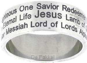Names Of Jesus - Size 12 (22mm)