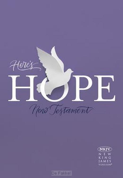 NKJV Here's hope NT colour ing