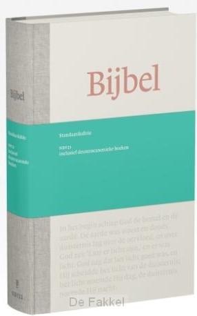 Bijbel NBV21 standaard incl Deut. boeken
