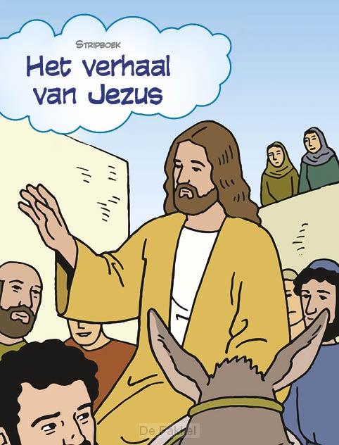 Stripbijbel het verhaal van Jezus